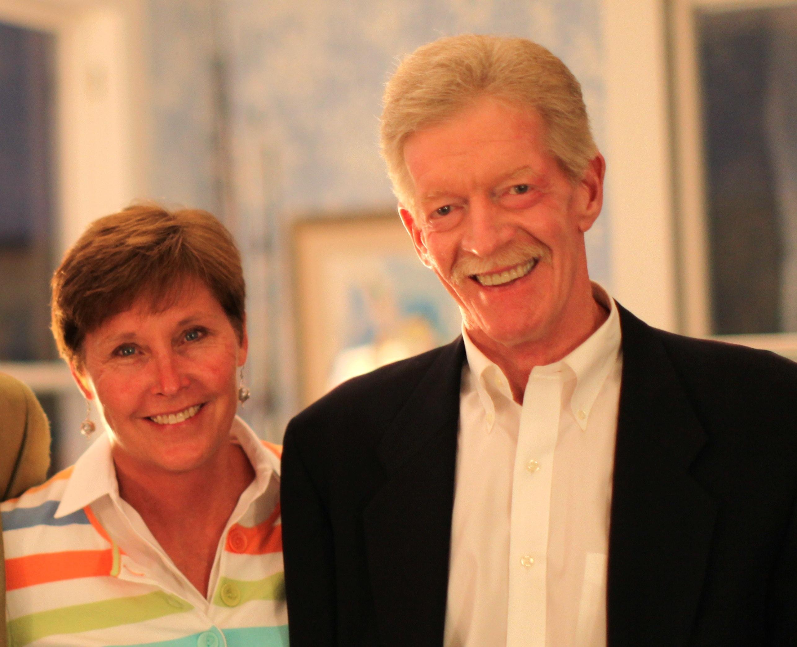 Nancy Ditz and Bruce Mosbacher